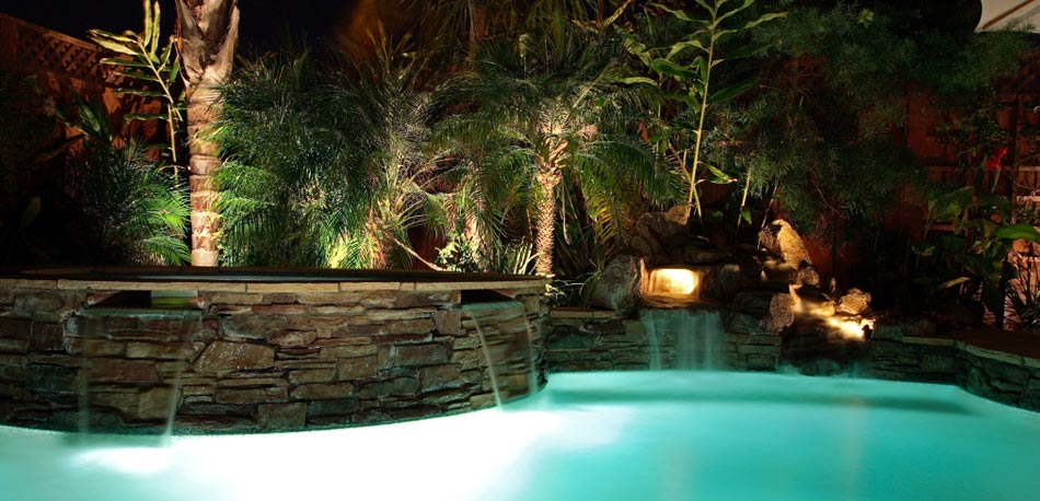 San Jose California Pearman Landscape Lighting Company